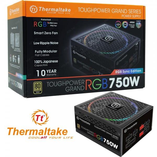 Thermaltake ToughPower Grand RGB Gold 750W ATX 2.4 Netzteil