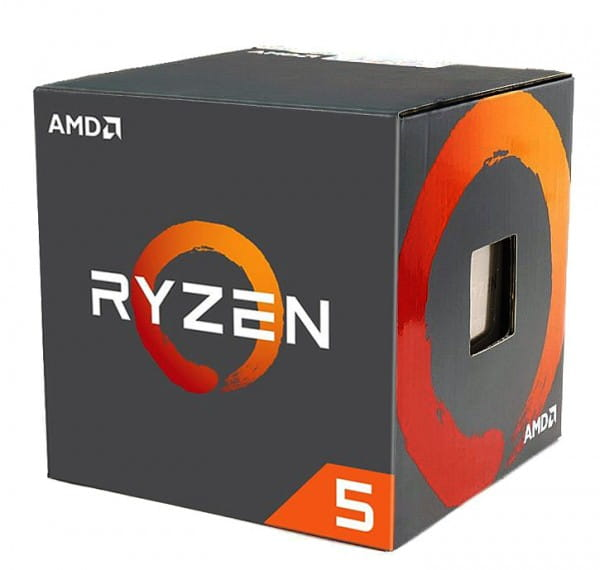 AMD Ryzen 5 1600 [12nm] 6x 3.20GHz Sockel AM4 Boxware