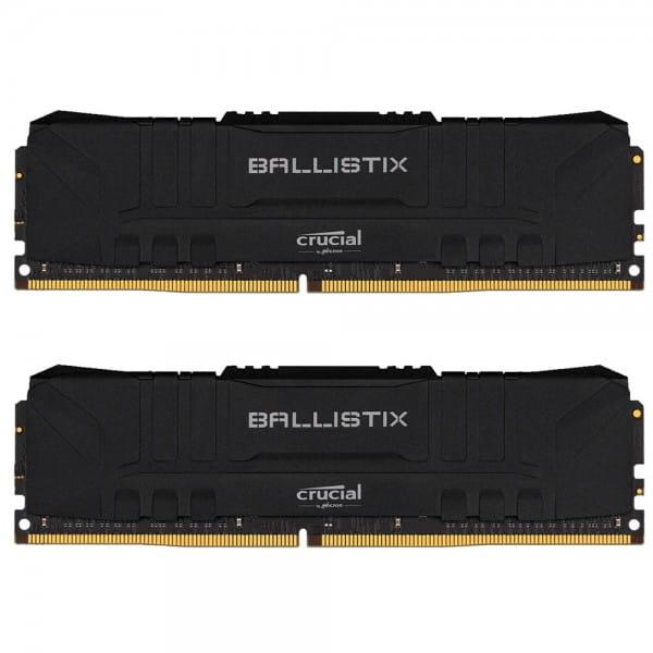 16 GB Crucial Ballistix DDR4-3200 DIMM CL16 (BL2K8G32C16U4B) Dual Speicher