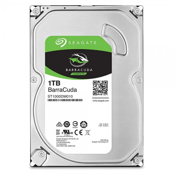 1.0 TB HDD Seagate BarraCuda Compute (ST1000DM010) SATA 6Gb/s-Festplatte