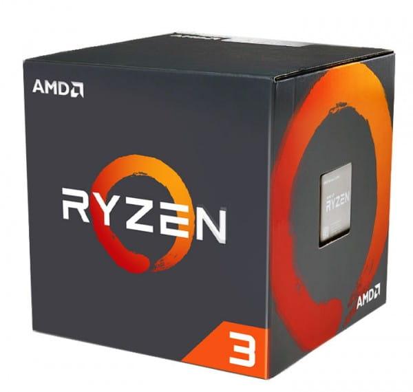 AMD Ryzen 3 1200 4x 3.10GHz Sockel AM4 Boxware (YD1200BBAEBOX)