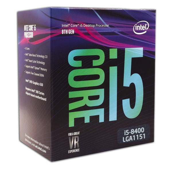 Intel Core i5-8400, 6x 2.80GHz, boxed (BX80684I58400) Prozessor