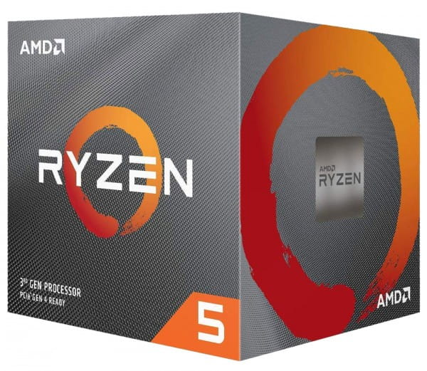 AMD Ryzen 5 3600X, 6x 3.80GHz, Sockel AM4 Box Prozessor