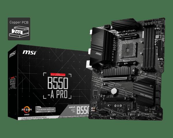 MSI B550-A Pro (7C56-002R) Sockel AM4 DDR4 ATX Mainboard